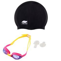 Bộ nón bơi Jiejia kính bơi Swim Goggles kèm bịt tai Phụ kiện cho bạn