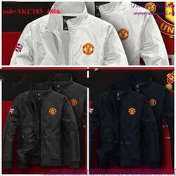 Áo khoác cặp đôi dù logo Manchester sành điệu cAKC183