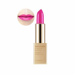 Son The Face Shop Collagen Ampoule Lipstick #05 Blessing Pink
