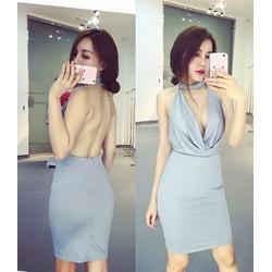 Đầm ôm dây cột bận nhiều kiểu