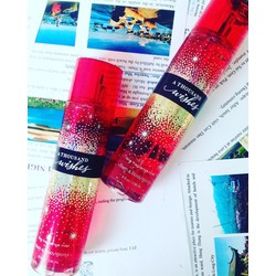 Xịt toàn thân Bath and body works hương Thousand wishes