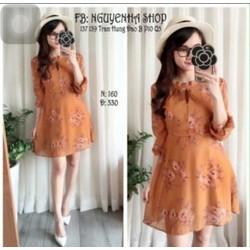 Đầm xoè hoa Quảng Châu