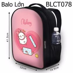 Balo học sinh Dễ thương Molang nhảy ra từ hộp quà - VBLCT078