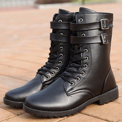 DC133 - Giày boot nam cá tính POSA