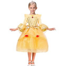 Đầm voan công chúa Bella - Người đẹp và quái vật