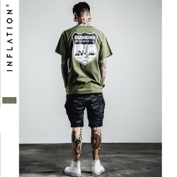 Áo Thun Nam Cotton Cao Cấp Inflation - Diamond