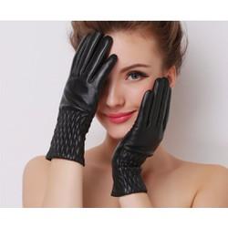 Sỉ lẻ Gằng tay da lót lông nỉ , cảm ứng màn hình nhạy Free size