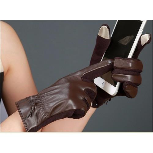 Găng tay da lót lông nữ sang trọng , cảm ứng màn hình  chống nước nhẹ - 4102994 , 4450158 , 15_4450158 , 180000 , Gang-tay-da-lot-long-nu-sang-trong-cam-ung-man-hinh-chong-nuoc-nhe-15_4450158 , sendo.vn , Găng tay da lót lông nữ sang trọng , cảm ứng màn hình  chống nước nhẹ