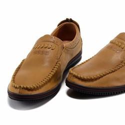 Giày lười nam công sở dáng mới tôn thêm sự sang trọng,mạnh mẽ HOT