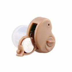 Máy trợ thính nhét tai không dây Axon K-80 Vàng - Tặng 20 pin Gold