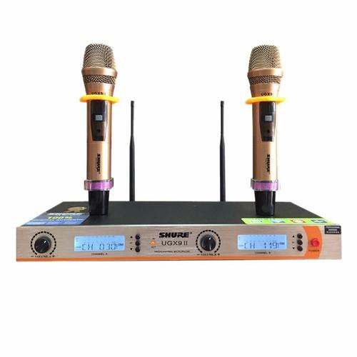 Micro không dây Shure UGX9 ii - 4102887 , 4449565 , 15_4449565 , 2400000 , Micro-khong-day-Shure-UGX9-ii-15_4449565 , sendo.vn , Micro không dây Shure UGX9 ii
