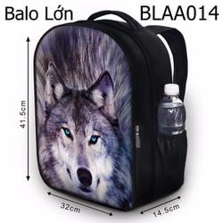 Balo học sinh Bộ thú Sói xám - VBLAA014