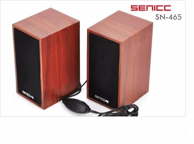 Loa vi tính gỗ Senic SN -465 8