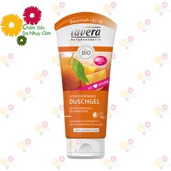 Sữa tắm Organic Đức Lavera cam và cây hắc mai