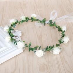 Vòng hoa hồng 4 màu đáng yêu, xinh xắn