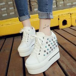 FREE SHIP - Giày nữ nâng đế thời trang Hàn Quốc mùa đông - SG0369