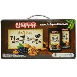 Thùng sữa óc chó hạnh nhân đậu đen Hàn Quốc