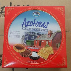 Hộp bánh Arcor Azotas 321gr
