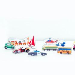 Bồ đồ chơi giao thông cho bé-TM shop