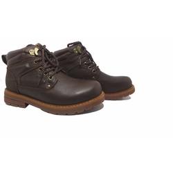 Giày bốt nam màu nâu 12GCC7852N
