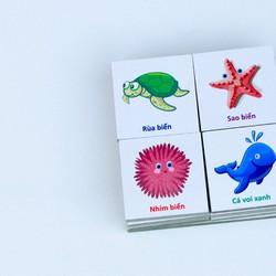 Bồ đồ chơi 32 sinh vật biển-TM shop