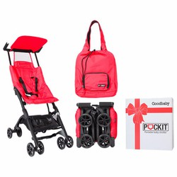 Xe đẩy em bé du lịch GB POCKIT - Đỏ