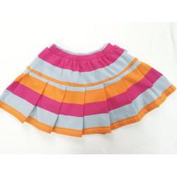 Váy xòe sọc hồng Nanio s1-8