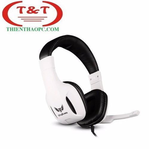 Tai nghe chụp tai có mic Ovann X5-C Pro Gaming - Trắng - 4090529 , 4325351 , 15_4325351 , 230000 , Tai-nghe-chup-tai-co-mic-Ovann-X5-C-Pro-Gaming-Trang-15_4325351 , sendo.vn , Tai nghe chụp tai có mic Ovann X5-C Pro Gaming - Trắng