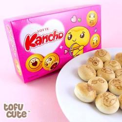 Combo 2 hộp Bánh quy phủ Socola Kancho LOTTE
