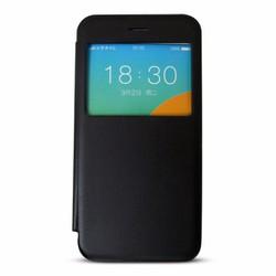 Bao da iPhone 6 Plus Easy Cover ốp trong suốt màu đen