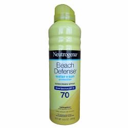 Xịt chống nắng Neutrogena Beach Defense SPF 70 184g
