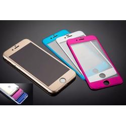 MIẾNG DÁN CƯỜNG LỰC IPHONE 6 FULL MÀN HÌNH MÀU