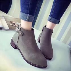 Giày Boot nữ Thu Đông