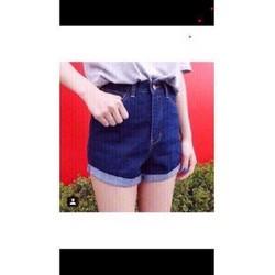 Quần Short Jean nữ xắn lai cao cấp