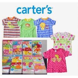 sét 5 áo thun tay ngắn bé gái CARTER S