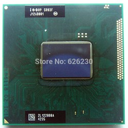 CPU i7 2620M 2.7ghz up 3.4ghz 3M cache bus 1333 cho laptop