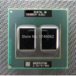 CPU core 2 duo  Qx9300 2.53ghz 12M cache bus 1067 cho laptopp