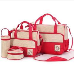 Bộ túi xách 5 chi tiết tiện dụng cho Mẹ và Em bé