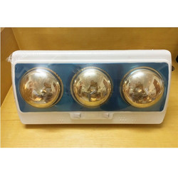 Đèn sưởi nhà tắm loại 3 bóng vàng OSK-F58.