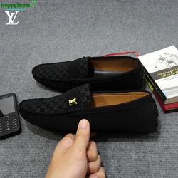 Giày da nỉ Louis Vuitton