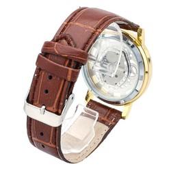 đồng hồ đeo tay nam dây da sang trọng cao cấp