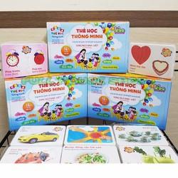 Bộ thẻ học song ngữ Việt Anh 16 chủ đề