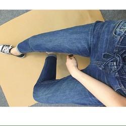 Quần jeans BOY lưng thun trơn thời trang cao cấp