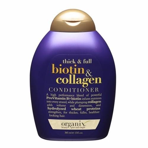 Dầu xả OGX Thick and Full Biotin and Collagen CONDITIONER chai 385ml - 4104334 , 4464274 , 15_4464274 , 200000 , Dau-xa-OGX-Thick-and-Full-Biotin-and-Collagen-CONDITIONER-chai-385ml-15_4464274 , sendo.vn , Dầu xả OGX Thick and Full Biotin and Collagen CONDITIONER chai 385ml