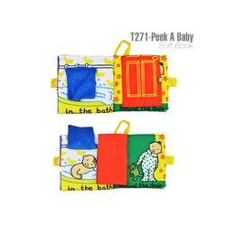 Sách vải Peek a baby Jollybaby