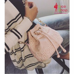 Túi xách mini ren trang trí xinh xắn
