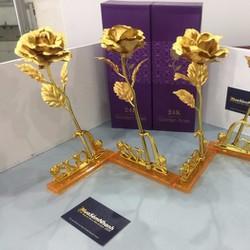 Quà Tặng 20-10 Hoa Hồng Vàng 3D LOVE