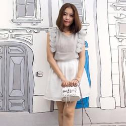 Chân váy voan kiểu hàng nhập, design by Korea