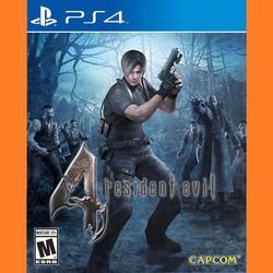Đĩa Resident Evil 4 - Playstation 4 - hệ US