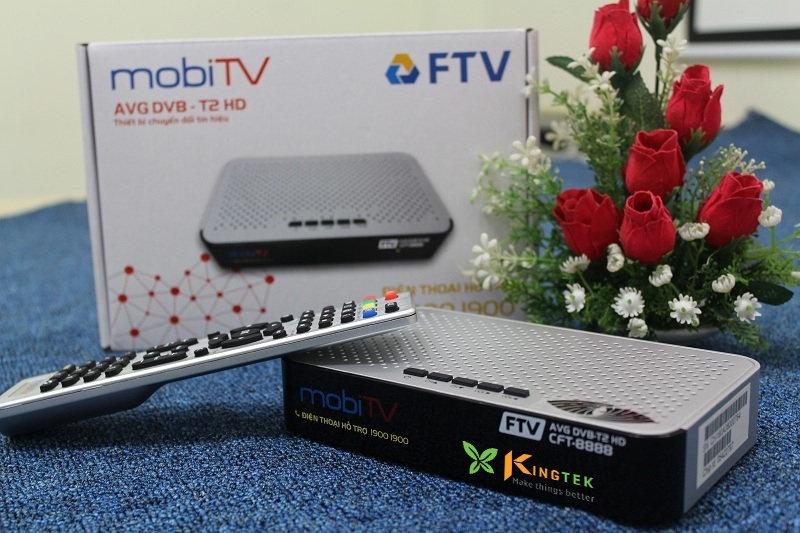 Đầu thu FTV CFT-8888 - Trắng đen 2